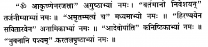 Surya Karanyas - Vedicgrace.in