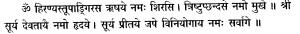 surya rishiadinayas - Vedicgrace.in